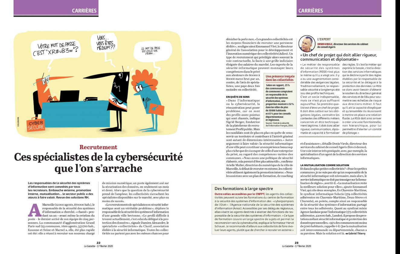 Article cybersecurite collectivites